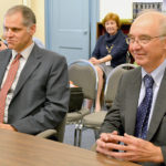 Commissioners Welcome New Probate Judge, Honor Outgoing Judge