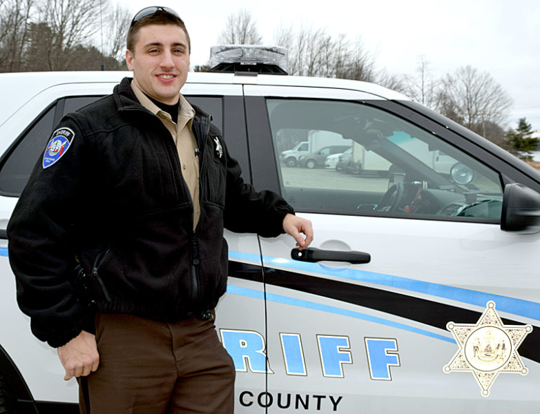 Lincoln County Sheriff's Deputy Jonathan Colby. (J.W. Oliver photo)