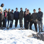 MVHS Outdoor Club Weathers Cold on Camden Hills Trek