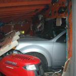 Medical Event Apparent Cause of Car vs. Garage Collision