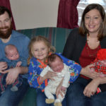 South Bristol Family Welcomes Triplets