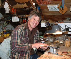 Waldoboro Man Uses Love of Outdoors in Creative Business