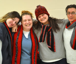 Two Bridges Inmates Crochet for Special Olympics