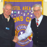 Devin Gives Marine-Economy Talk To Bristol Area Lions