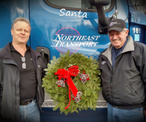 Northeast Transport Truckers Bring Christmas Joy