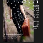 Heartwood Presents One-Woman Show 'Etty'