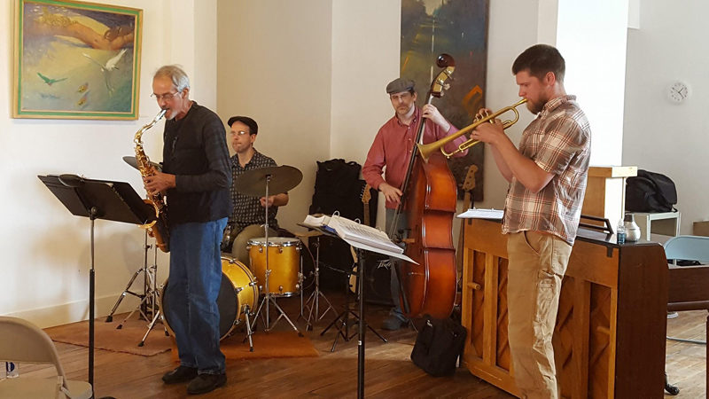 On Sunday, Dec. 11, from 11:30 a.m. to 2 p.m., the third edition of the Medomak Arts Project's monthly jazz brunch featuring Jazz do Mondo will take place.