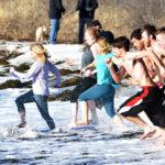 Pemaquid Polar Bear Dip Draws Biggest Crowd Yet