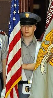 Quinn DeLorenzo, of Jefferson, will march in the presidential inaugural parade Friday, Jan. 20 with the Fishburne Military School. (Photo courtesy Quinn DeLorenzo)