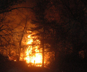 Fire Starts in Barn, Spreads to House in Nobleboro