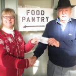 Bremen Patriotic Club Donates To Food Bank