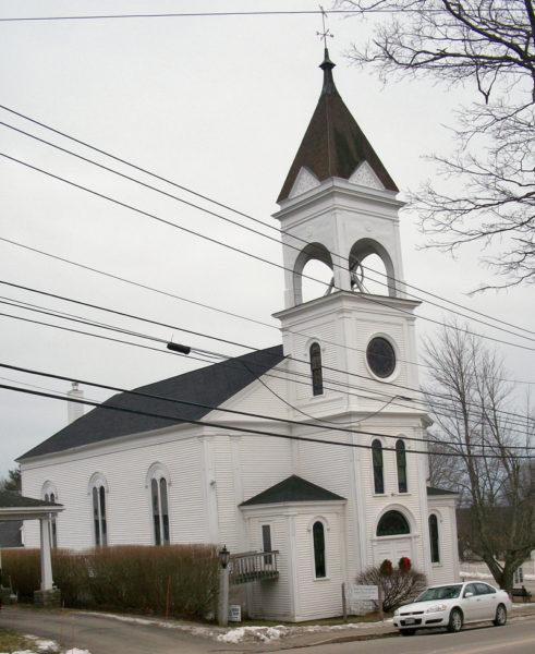 Broad Bay Congregational Church in Waldoboro