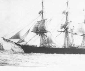 """<span class=""""entry-title-primary"""">Damariscotta History</span> <span class=""""entry-subtitle"""">Great Races of American and British Clippers in the China Tea Trade</span>"""