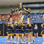 MVHS Cheerleaders Win Third Consecutive KVAC Title