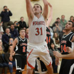 Ethan James scores 1,000th career point
