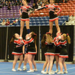 Boothbay and Wiscasset cheerleaders qualify for