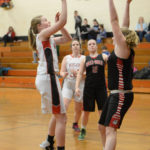 Hall-Dale girls clip Wolverines