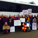Many Turn Out For Maine Women's March in Augusta