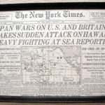 Original World War II Headlines Displayed at Waldoboro Public Library