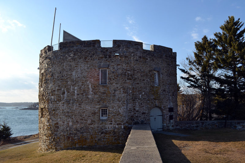 "The replica of Fort William Henry at the Colonial Pemaquid State Historic Site. In a Feb. 14 letter to Friends of Colonial Pemaquid President Don Loprieno, Gov. Paul LePage said a lease agreement between the nonprofit and the state for the management of the site is ""off the table."" (Maia Zewert photo)"