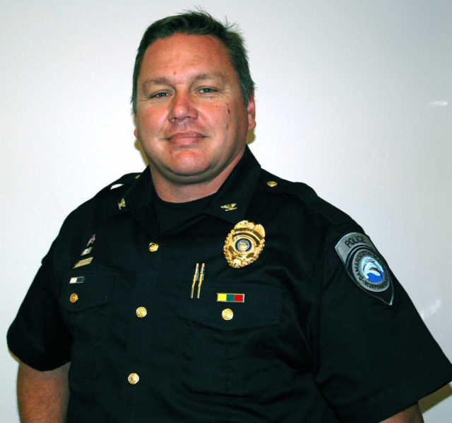 Damariscotta Police Chief Ron Young. (J.W. Oliver photo, LCN file)