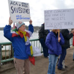 New Group Protests in Twin Villages to Protect Health Care