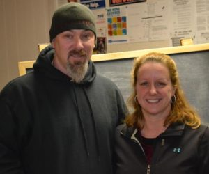 Twisted Iron Customs owners Michael Benner and Shelby Bertrand plan to move the business from Route 1 in Wiscasset to Dodge Road in Edgecomb. (Abigail Adams photo)