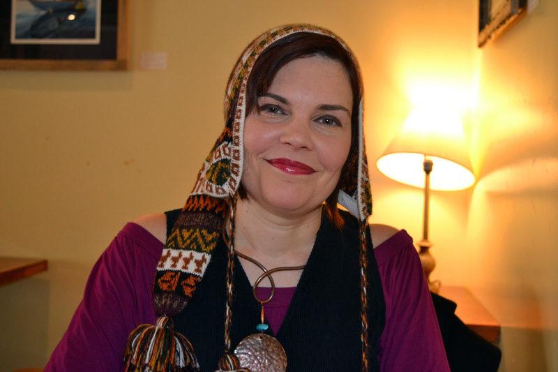 Emily Sabino, half of the musical duo The Flying Seeds. (Christine LaPado-Breglia photo)