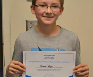 Bristol Student Wins County Spelling Bee