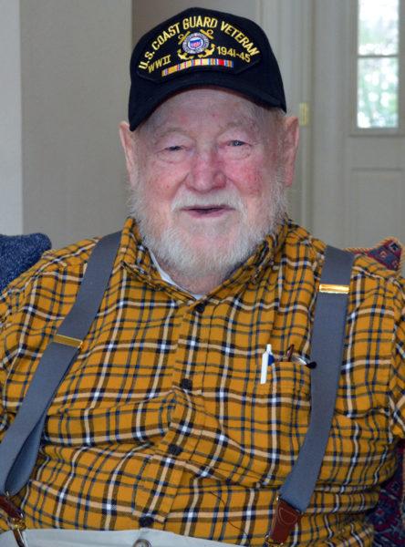 Eugene Walsh, of Newcastle, celebrated his 100th birthday Thursday, Feb. 23. (Maia Zewert photo)