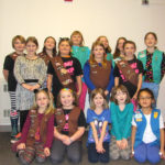 Girl Scout Cookie Booth in Jefferson