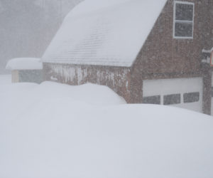 Lincoln County Settles in For Blizzard Conditions