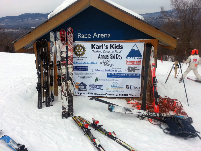 The 10th annual Karl's Kids ski-day fundraiser will be held Friday and Saturday, March 3 and 4 at Sugarloaf in Carrabassett Valley.