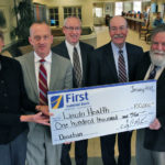 First National Bank Gives Financial Pledge To New Health Center