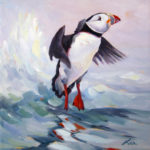 Lea Peterson Exhibits At Savory Maine