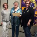 Lyme Educators Speak at Lions Club