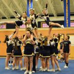 Medomak Middle School wins Busline cheering crown