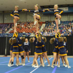 Medomak cheerleaders third in State B