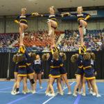 Medomak cheerleaders third in State B