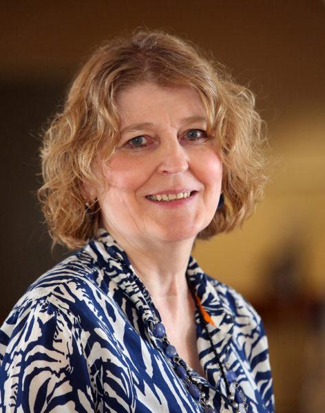 Organ recipient Liz Winchenbach is a dietary clinical assistant at Cove's Edge in Damariscotta.