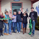 Damariscotta Secondhand Bookshop Cuts Ribbon at New Home