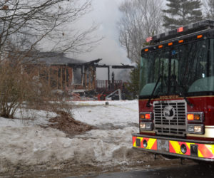 Dresden Home Lost to Fire