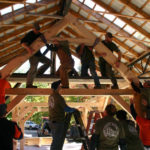 Timber Frame Course Is More Than Just Woodworking