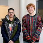 Two Sophomores Represent LA at State Science Fair