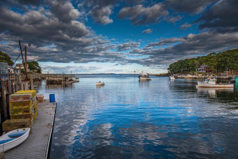 A stunning shot of New Harbor by Michael Sevon. (Photo courtesy Michael Sevon)