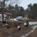 Driver Falls Asleep, Flips Car on Route 1