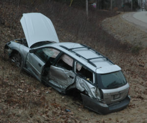 No Serious Injuries in Rollover on Route 1 in Nobleboro