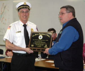 Somerville Fire Department Receives Award for Health and Safety