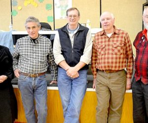Outgoing Whitefield Selectmen Get Standing Ovation