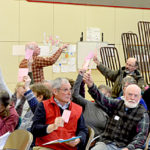 Whitefield Approves Budget, Honors Volunteers